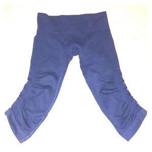 Lululemon flow and go crop leggings